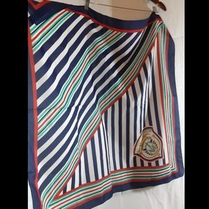 Accessories - 🛳VINTAGE NEWPORT YACHT CLUB bright Striped Scarf